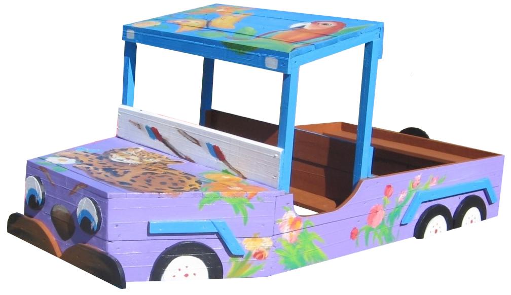 Машина для детской площадки схемы